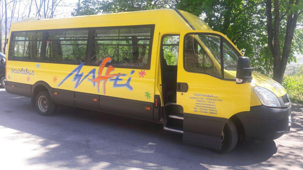 Noleggio scuolabus trentino