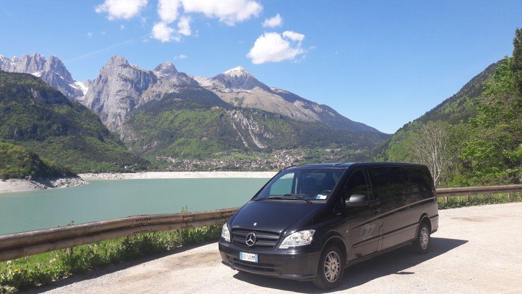 Noleggio auto in Trentino Mercedes Benz Vito