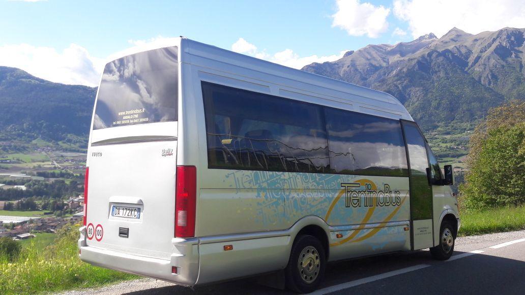 noleggio minibus trentino daily