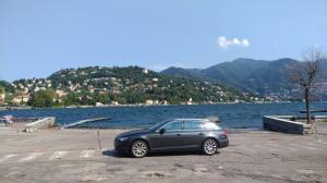 AUDI - lago Como